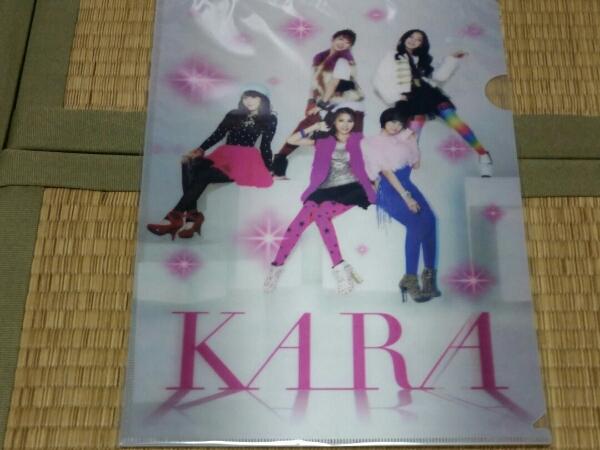 KARA 3Dクリアファイル