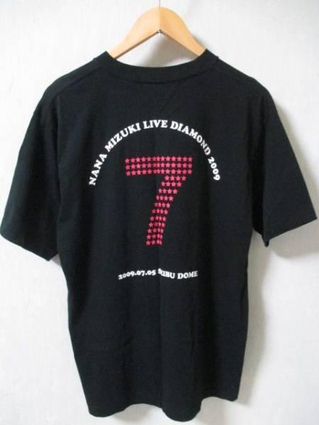 水樹奈々 '09ライブダイアモンド ツアーTシャツ 黒 Lサイズ