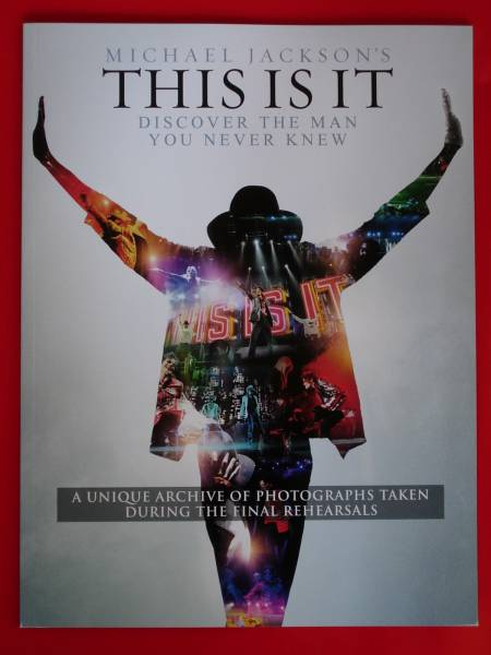 THIS IS IT マイケルジャクソン 公式パンフレット 正規品 英語教材 日本未発売