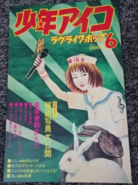 少年アイコ aiko LLP6 ツアーパンフレット/パンフ