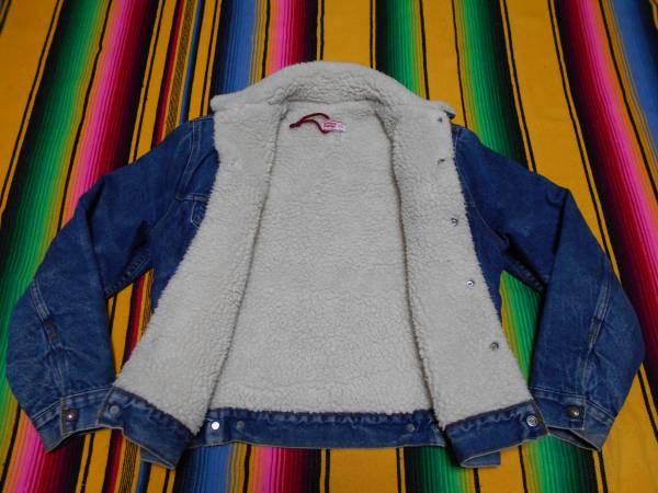 1980年代 Levi's リーバイス ボア ビンテージ ジージャン デニムジャケット MADE IN USA HOTROD ホットロッド バイカー オールドサーフ_画像2