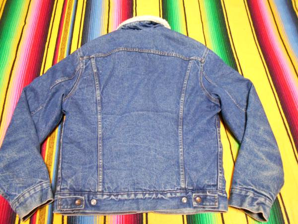 1980年代 Levi's リーバイス ボア ビンテージ ジージャン デニムジャケット MADE IN USA HOTROD ホットロッド バイカー オールドサーフ_画像3