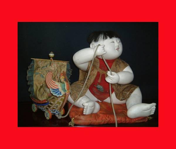 【人形館】「御所人形V165」抱き人形、京人形、雛人形,〝御〟_画像1