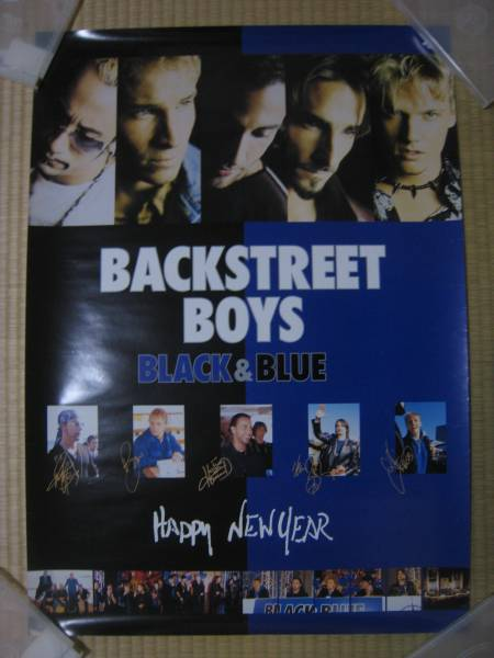 BACK STREET BOYS バックストリートボーイズ★中古ポスター