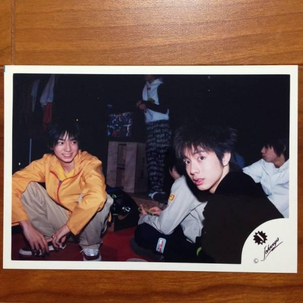 即決¥1000★嵐 公式写真 022★松本潤 小原裕貴 Jr.時代 Jロゴ