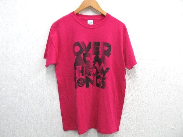 Y0050:OVER ARM THROW 2011-12ライブTシャツMピンク:35