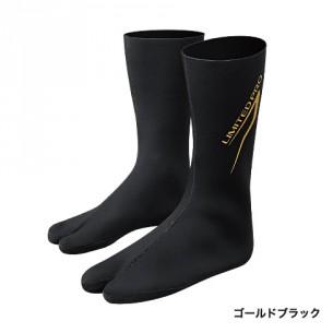 シマノ:LP・CRソックス(中割) SC-151P(Gブラック)L☆New!