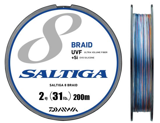 DAIWA UVF SALTIGA ソルティガ 8BRAID+Si 300m 2.5號