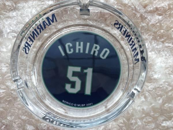 希少 イチロー マリナーズ #51 灰皿 グッズ ICHIRO 未使用品 切手可 グッズの画像