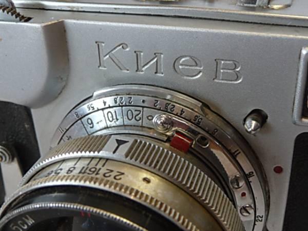 珍品 KIEV-2 キエフー Contax #557760コンタックスSONNAR #15_画像1