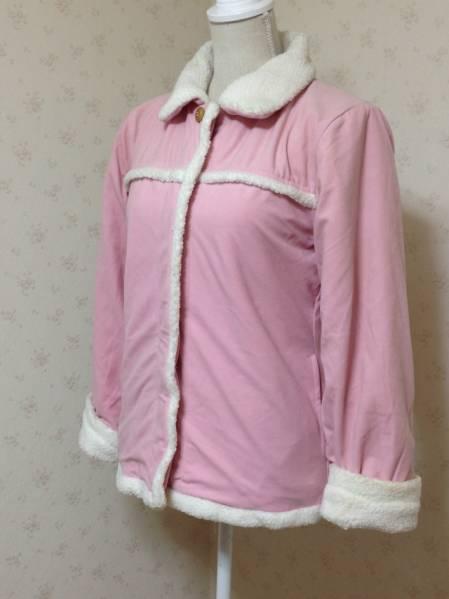 【お買得!】 ◆ Triple rund ◆ ふわもこジャケット ピンク M