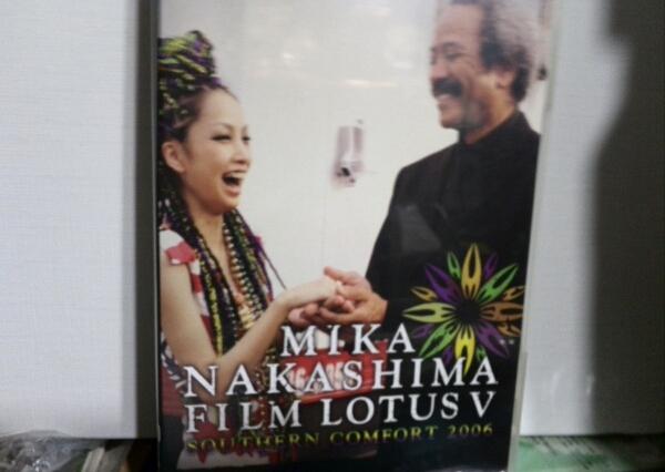 DVD MIKA NAKASHIMA FILMLOTUS 5中島美嘉 ライブグッズの画像