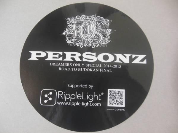 パーソンズ PERSONZ★祝30周年&武道館公演プレゼントステッカー