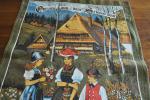 ドイツ・ヴィンテージ カレンダークロス/1996年 民族衣装 [4512]