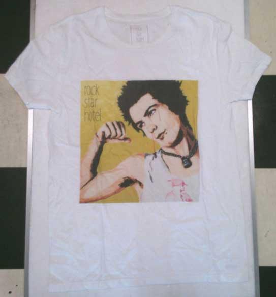 rock star hotel  シドヴィシャス  Tシャツ