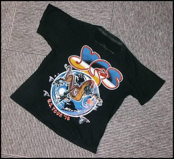 希少ビンテージ70年代イエスyesパキ綿バンTシャツ70sオリジナルm
