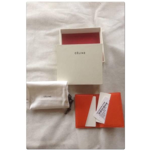 【セリーヌ】未使用・超美品・バイカラーのカードケース_画像3