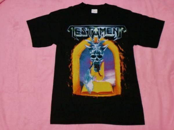 TESTAMENT テスタメント Tシャツ ロックT バンドT S ツアーT Overkill Metallica