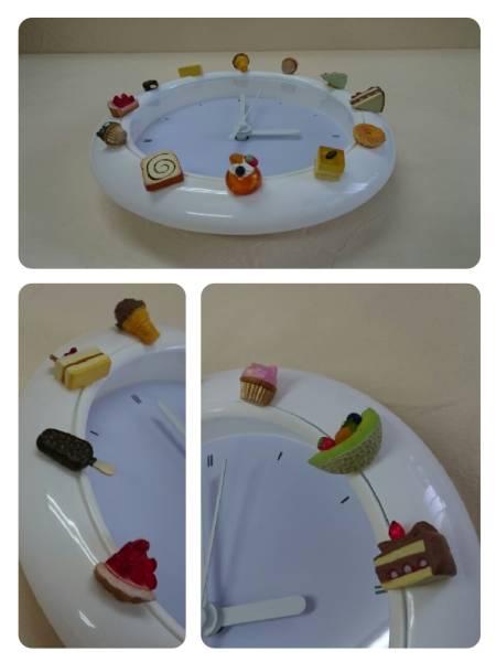 飾り時計★可愛い時計★子供部屋★模様替え★食玩★デコ時計_とても可愛い食玩です