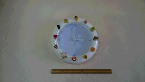 飾り時計★可愛い時計★子供部屋★模様替え★食玩★デコ時計_約16cmです