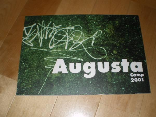 Augusta Camp 2001/パンフレット/杏子/元ちとせ/スガシカオ