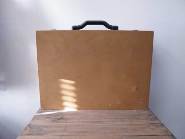 アディダス 非売品 ヴィンテージ 木製トランクケース レア adidas 希少 ビンテージ 古い バッグ 西ドイツ フランス ヨーロッパ_画像2