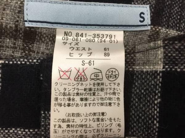 ★チェック ウールショートパンツ Sサイズ