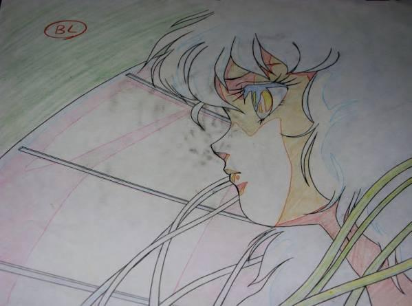 戦え!!イクサー1ACTⅢセル画セット 検索原画 平野俊弘 垣野内成美 大張正己_セルと動画は張り付いていません。