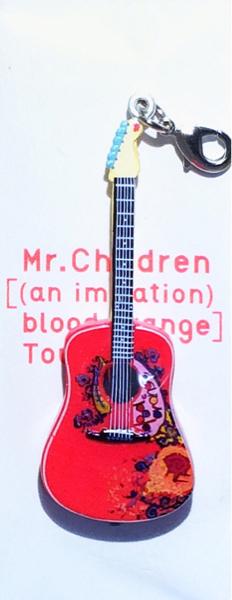 ☆Mr.Children ミスチル ギター ファスナーチャーム 新品未開封 [(an imitation) blood orange] Tour 即決☆