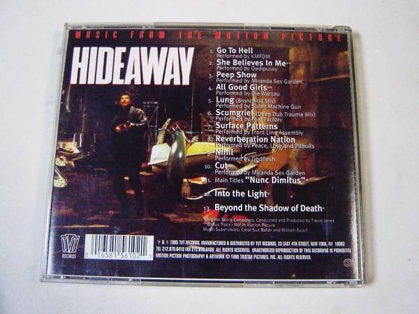 HIDEAWAY(ハイダウェイ)サウンドトラック/KMFDM,Travor Jones等_画像2