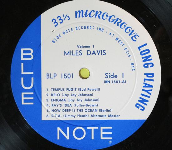 価格応談◆MILES DAVIS◆BLUE NOTE 63rd RVG刻印 米深溝_画像3