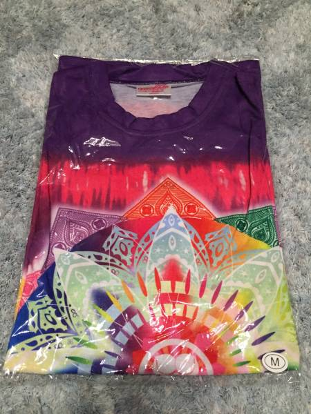gounn ももいろ クロ ーバーZ Tシャツ 高城れに 紫 パープル M