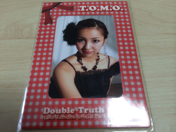 ◆1128/1200 板野友美【T.O.M.O.】1of1フォトカード2
