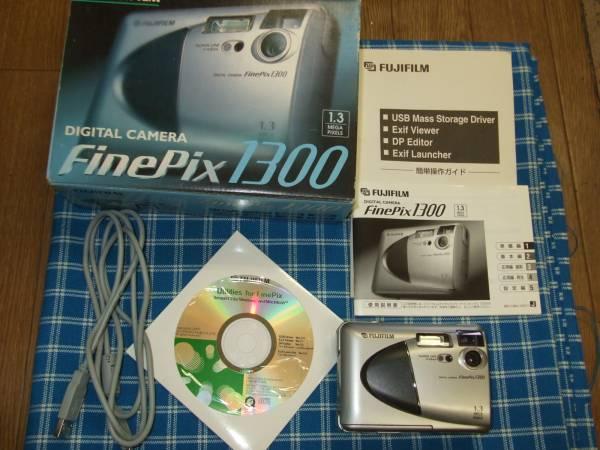 FUJIFILM フジフィルム デジタルカメラ FinePix1300 ジャンク