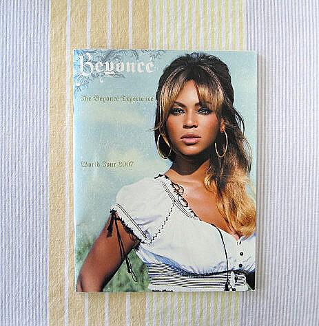 ビヨンセ●2007年ツアーパンフレット●The Beyonce Experience