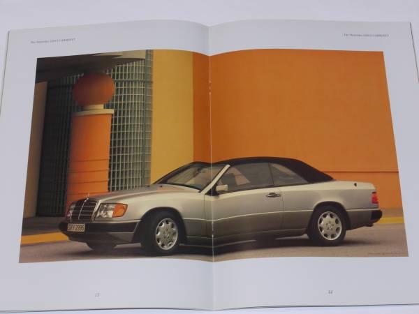 ■1992 ベンツ320CE カブリオレ カタログ■日本語版_画像2