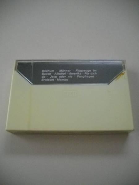 ヘルベルト グレーネマイヤー Herbert Gronemeyer カセットテープ 4630 Bochum ボーフム 全10曲 輸入盤 未開封_画像2