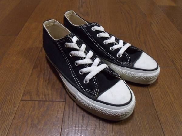 MADE IN USA CONVERSE ALL STAR black アメリカ製 オールスター_画像1