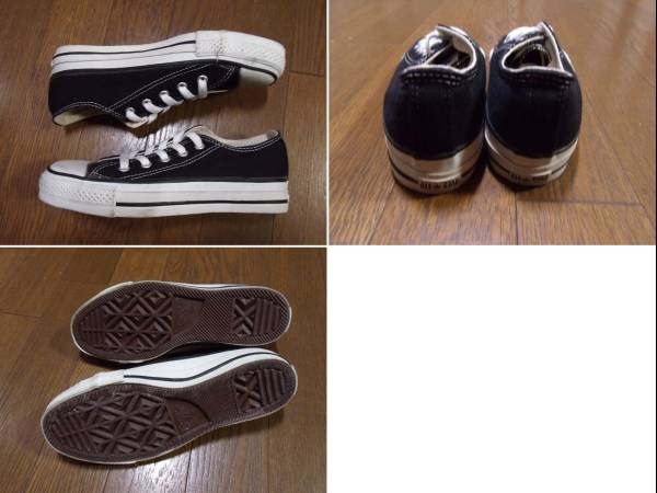 MADE IN USA CONVERSE ALL STAR black アメリカ製 オールスター_画像2