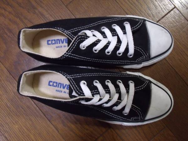 MADE IN USA CONVERSE ALL STAR black アメリカ製 オールスター_画像3