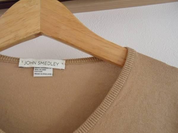 MADE IN ENGLAND JOHN SMEDLEY 英国製 ジョンスメドレー brown_画像2