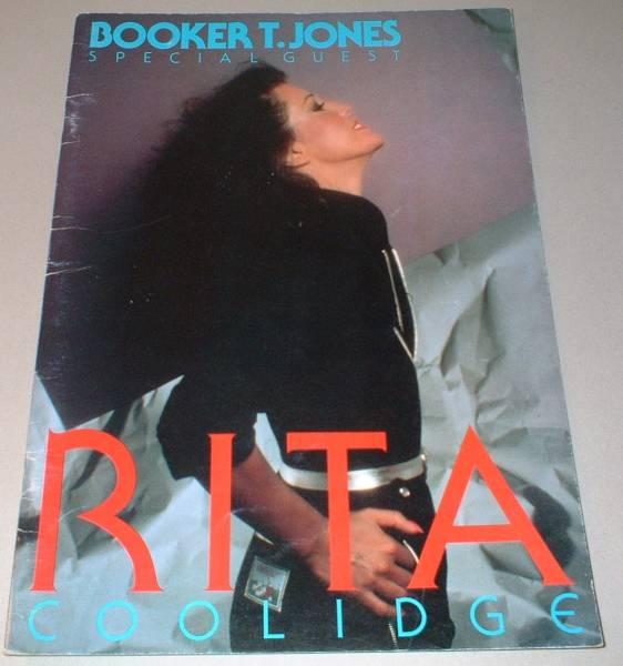 RITA COOLIDGE パンフ[JAPAN TOUR '80] リタ・クーリッジ