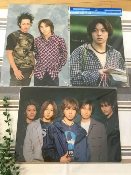ジャニーズJr. 下敷き 3枚セット☆屋良朝幸 コンサート 2000☆☆