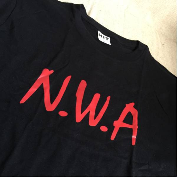 日本未発売!NWA Tシャツ アメリカ購入 LA CA USDM ヒップホップ