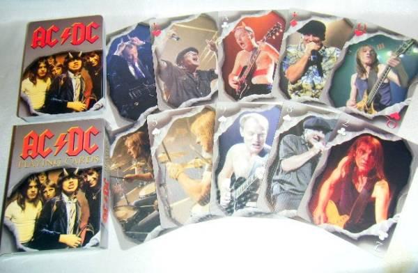 新価格!【トランプ/Playing Cards】AC/DC/直輸入アンガスヤング