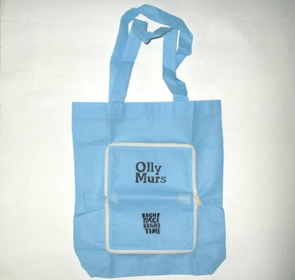 【Ψ】Olly Murs オリー・マーズ 折り畳みコンパクトエコバッグ