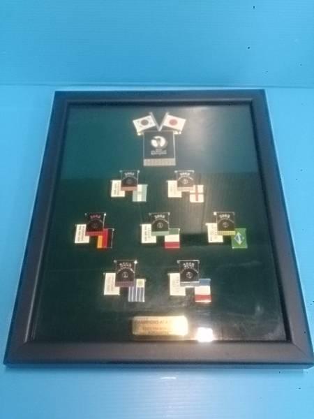 2002 FIFA WORLD CUP サッカーワールドカップ ピンバッジセット