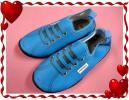 ◆パーソンズ◆マリンシューズ(アウトドア*靴) 青◆18~19cm