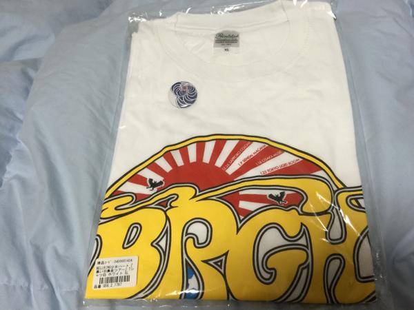 ベルリン少女ハート ツアーTシャツ白缶バッチ付XL 新品ベルハー