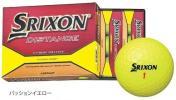 新品 スリクソン ディスタンス ゴルフボール 黄 1ダース
